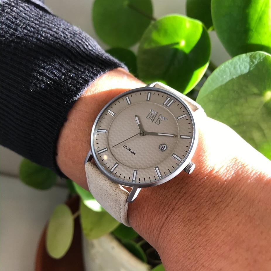 Davis Boston 2075 Titanium Horloge