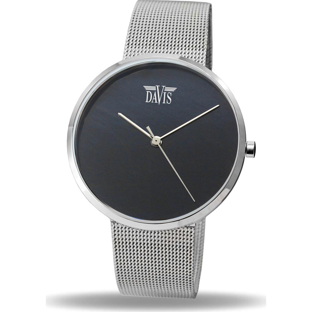 Davis Stone 2330 Horloge Blue Tigereye