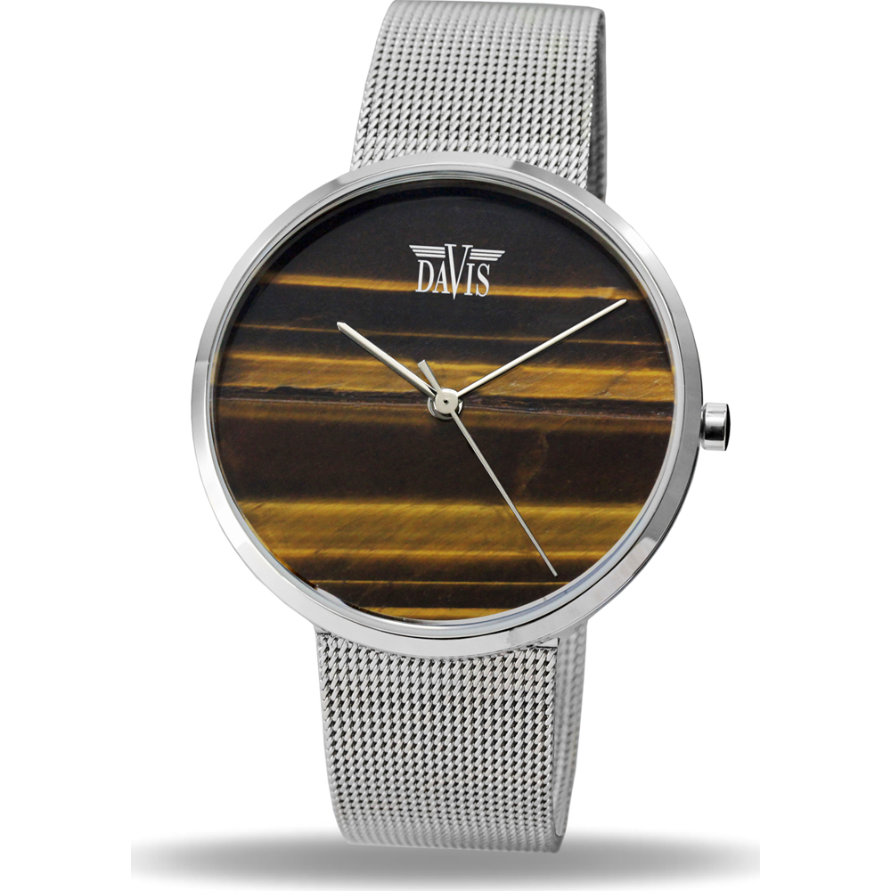 Davis Stone 2331 Tigereye Horloge