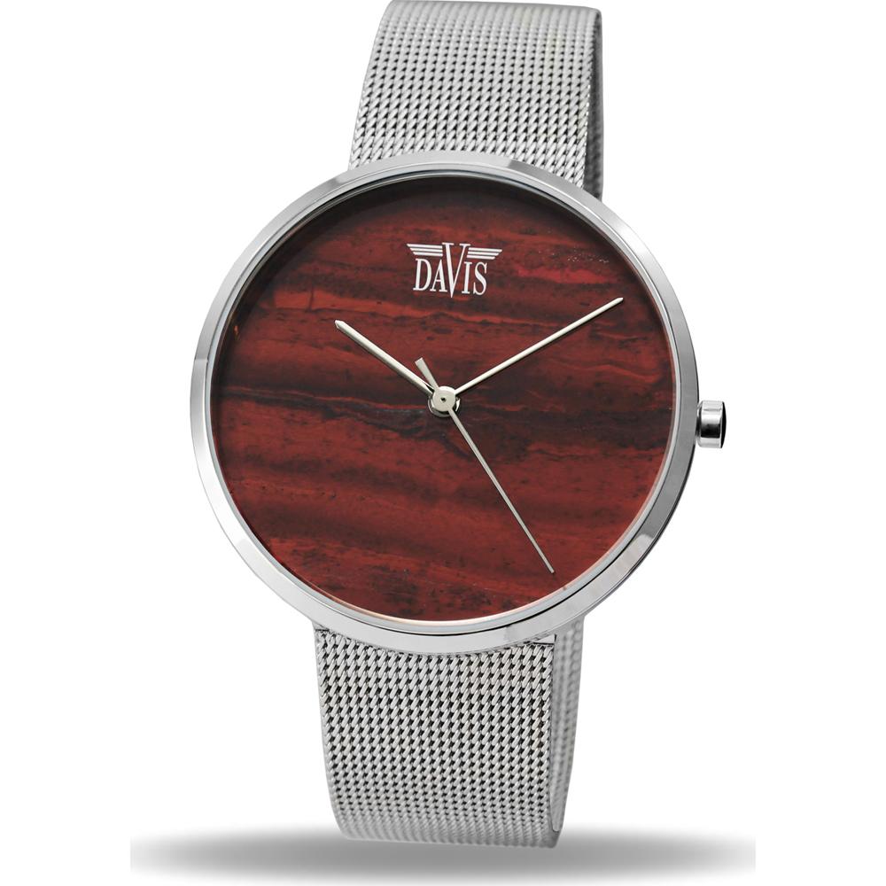 Davis Stone 2332 Red Rainbow Horloge