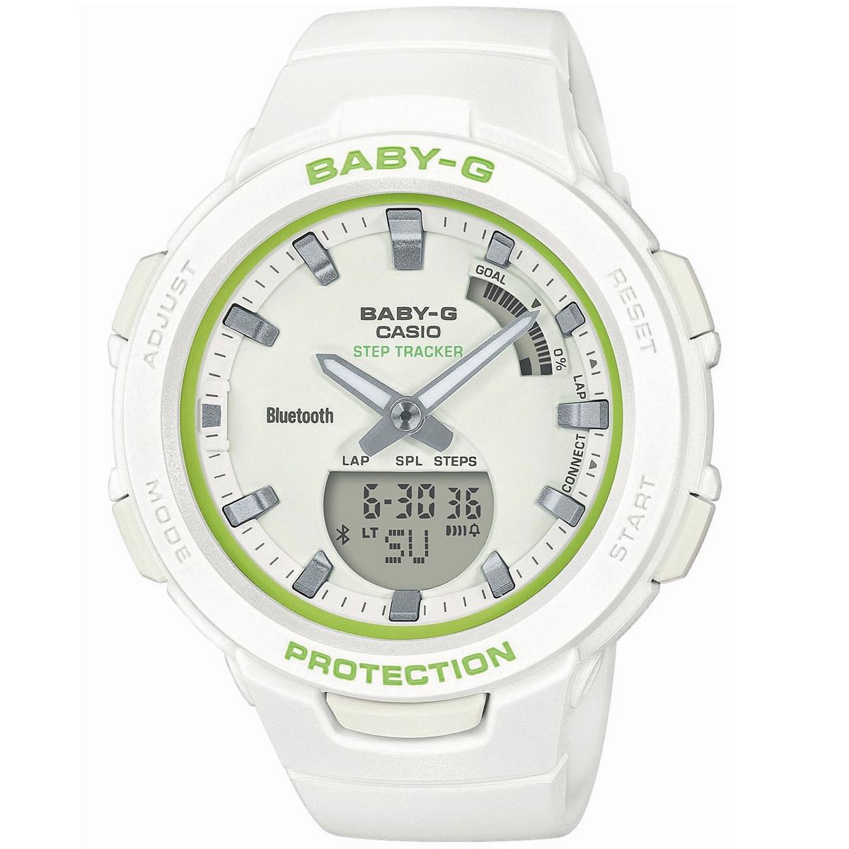 Casio BSA-B100SC-7AER Baby-G Squad