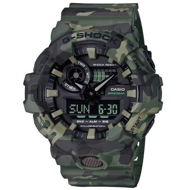Casio G-Shock GA-700CM-3AER Camouflage