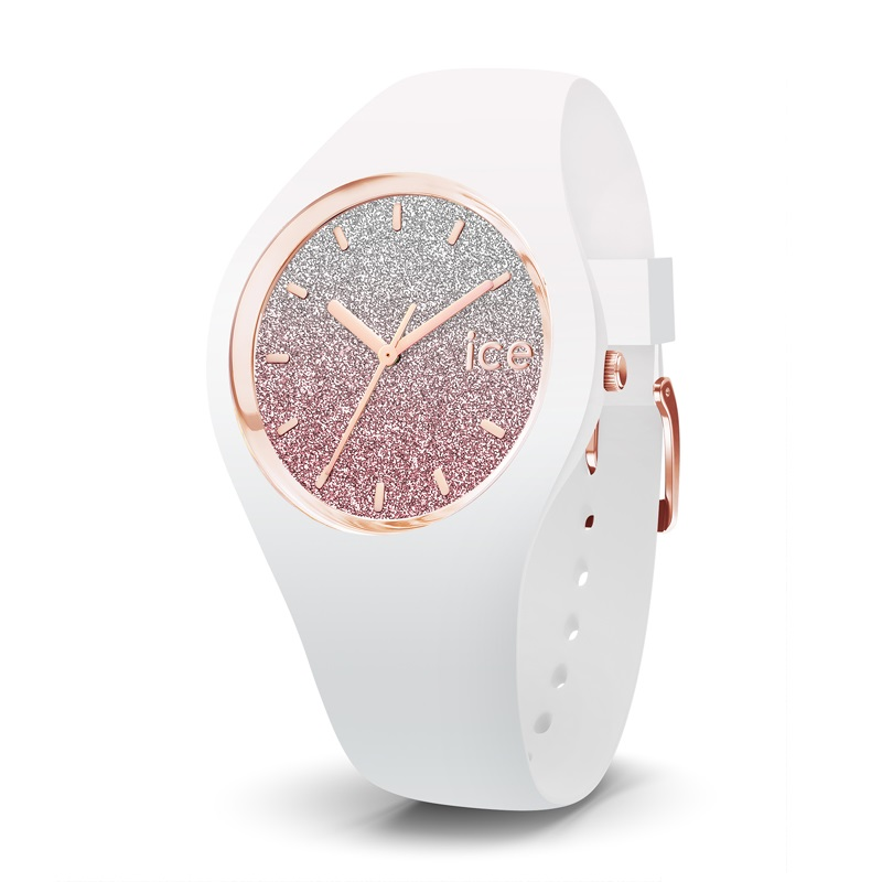 Ice-Watch Ice-Lo Unisex White Pink