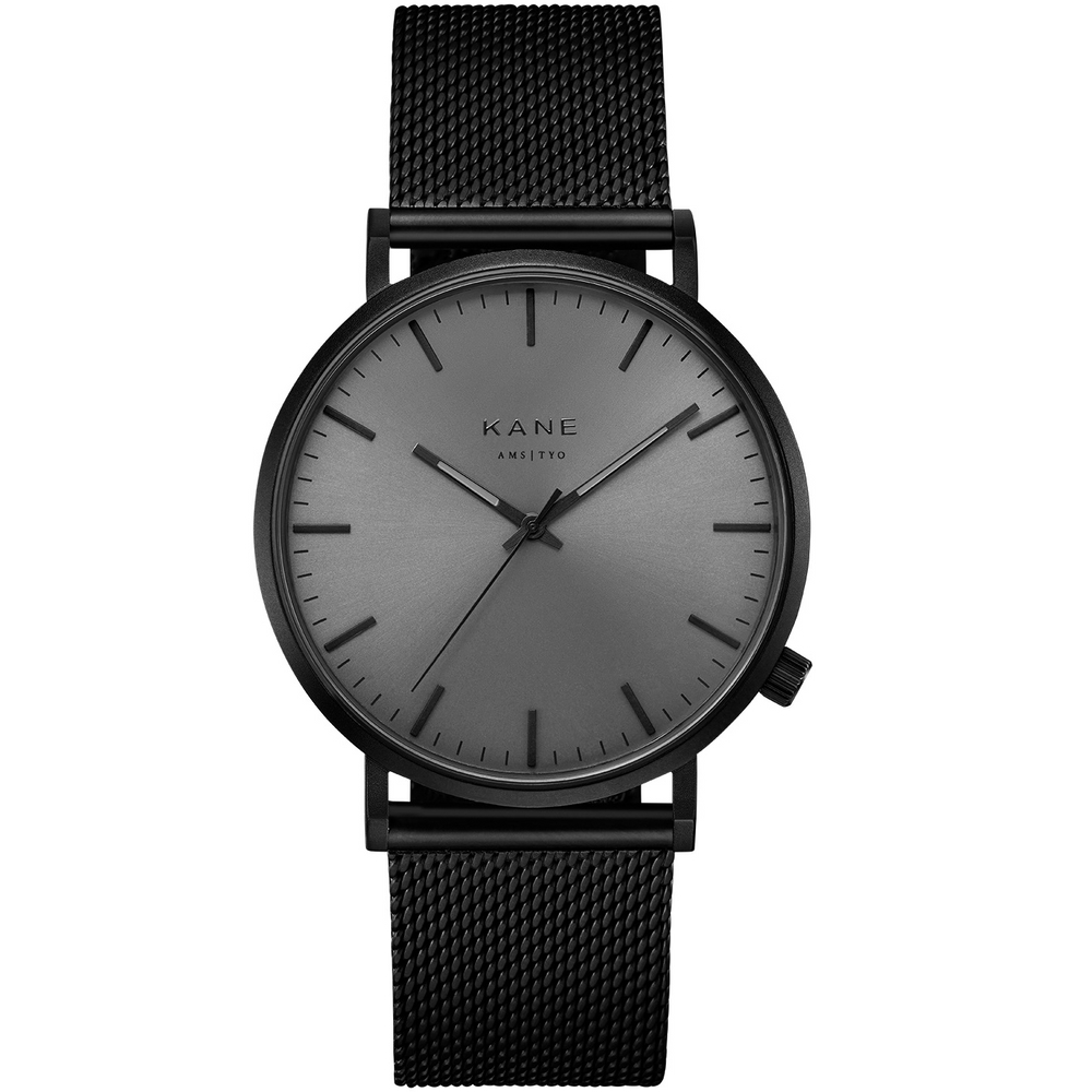 Kane Black Out Black Mesh Horloge