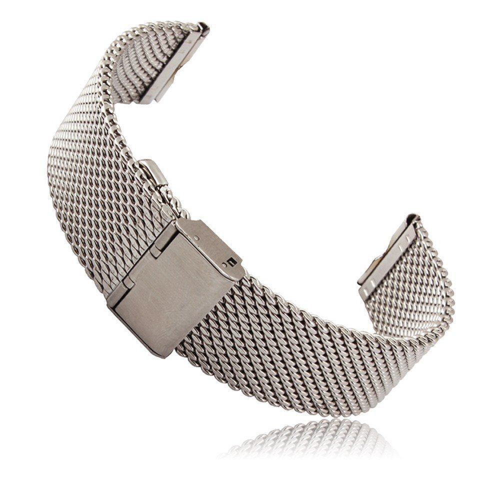 Milanese horlogeband 18 mm