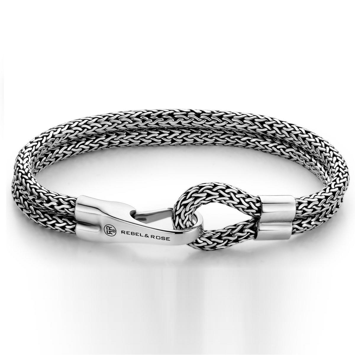 Rebel & Rose Double Hooked Bracelet L