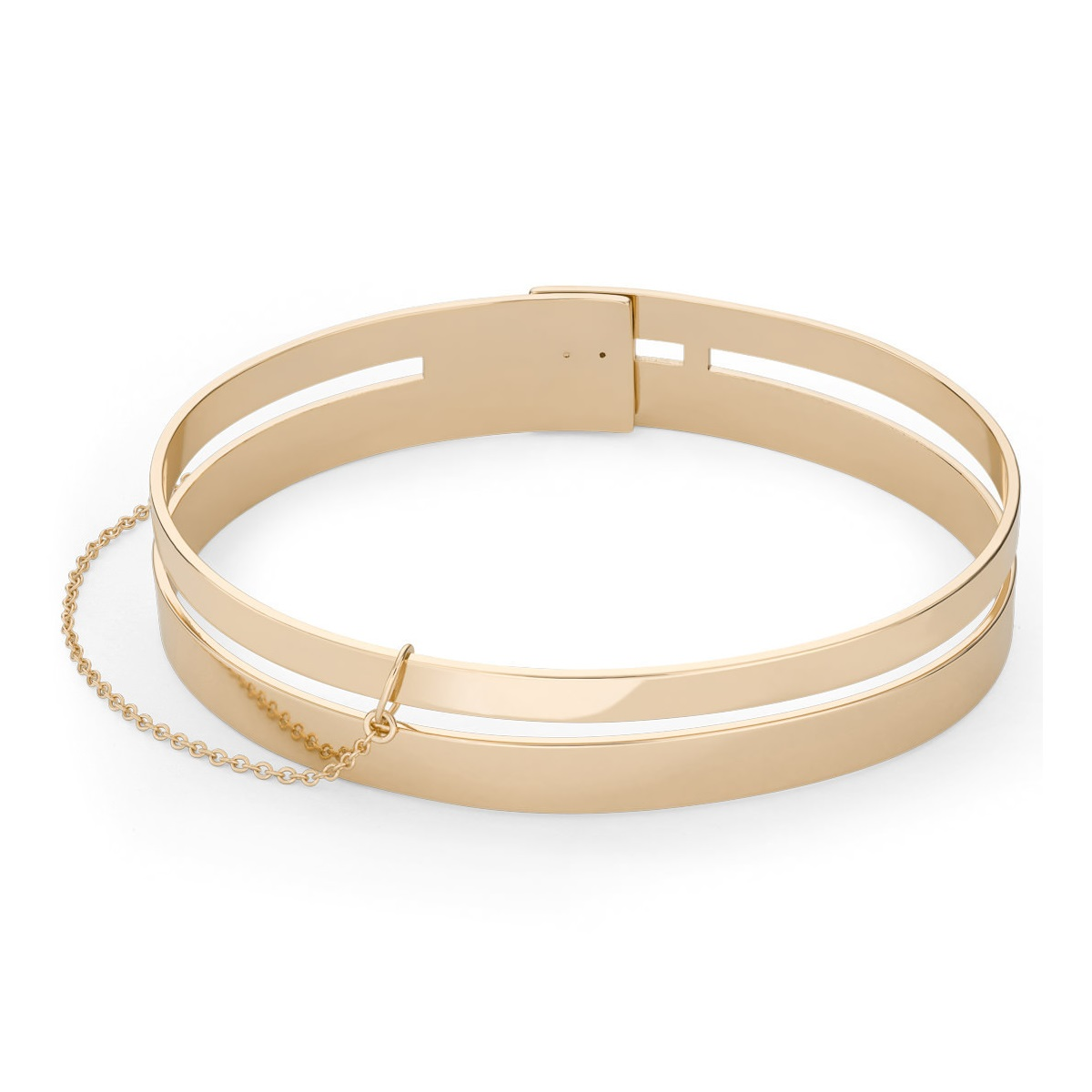 Rosefield Armband Double Bar Bangle Gold