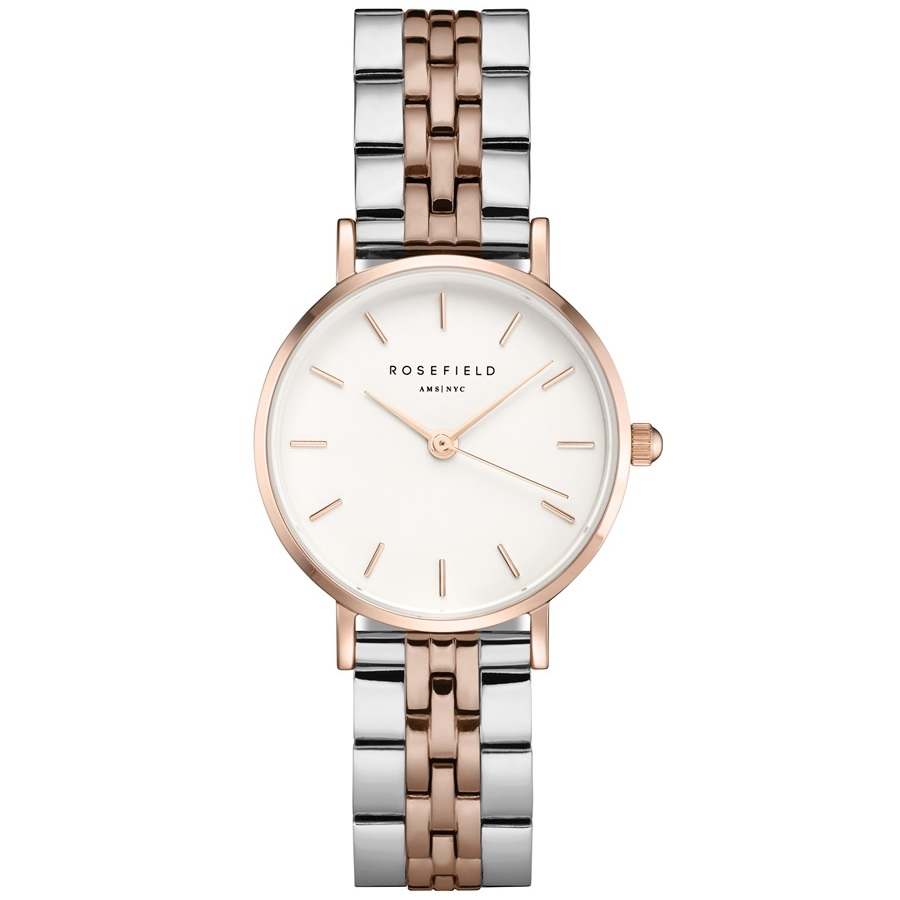 The Small Edit White Steel Silver Rosegold Duo