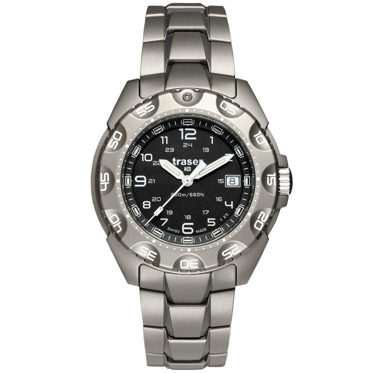 Traser P49 Special Force 100 Titanium Horloge