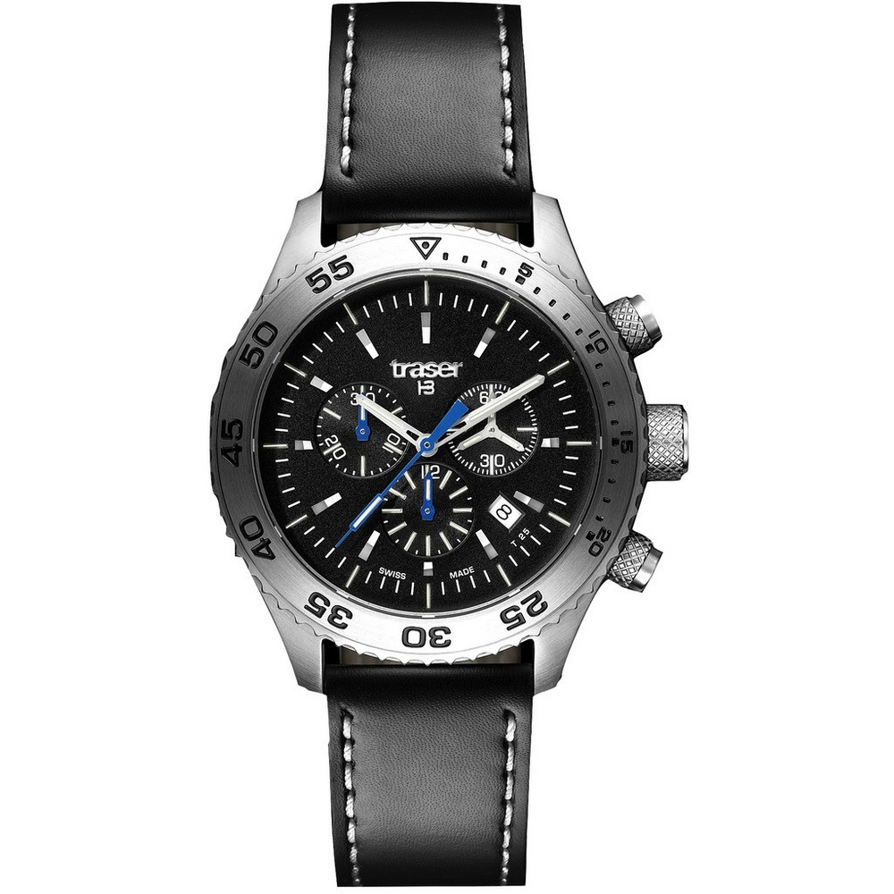 Traser P59 Aurora Chronograph Leather