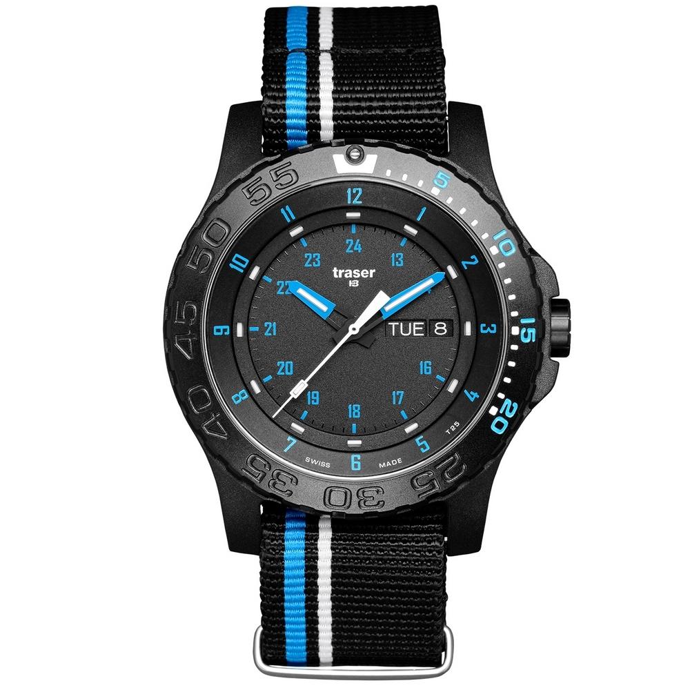 Traser P66 Blue Infinity Horloge