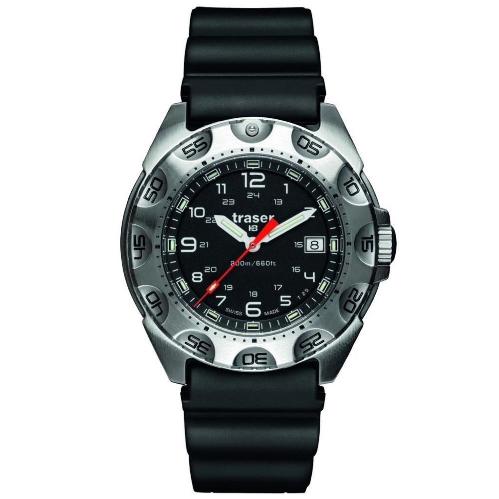 Traser P49 Survivor Rubber Horloge