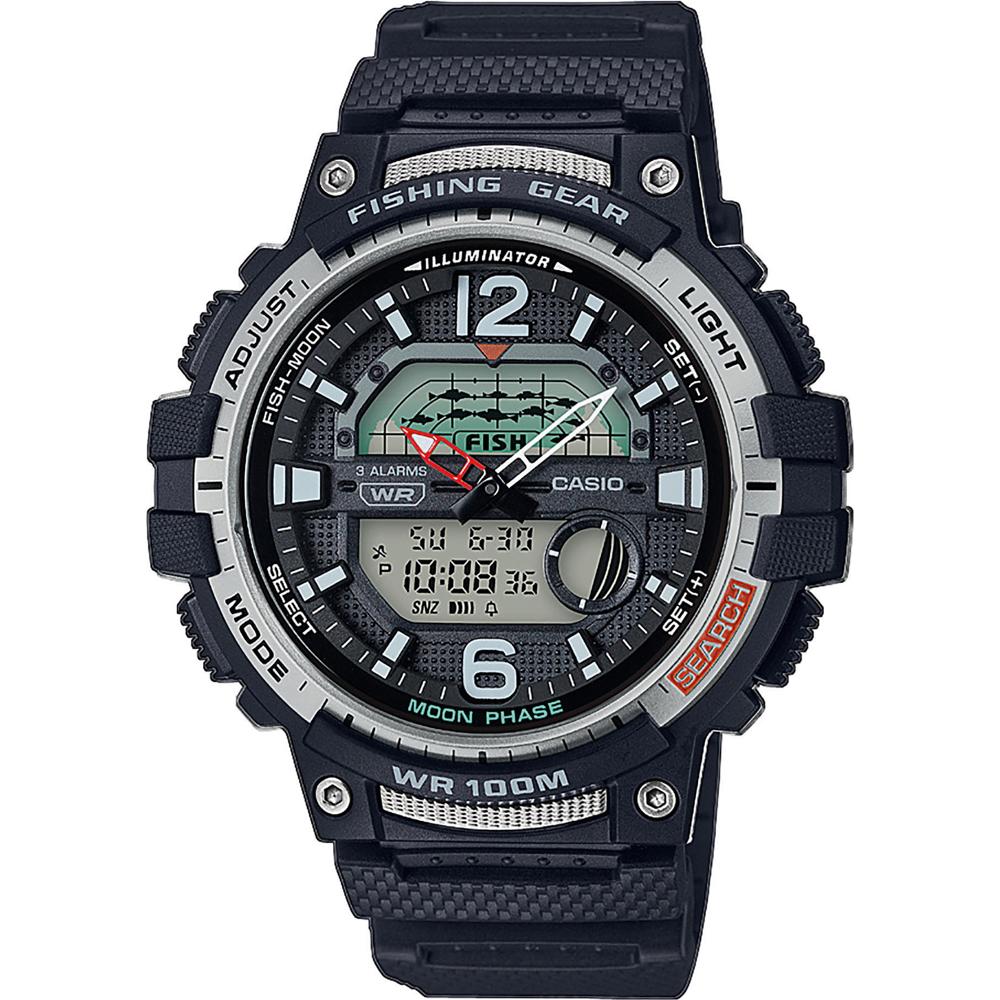 Casio WSC-1250H-1AVEF Fishing Gear Sporthorloge